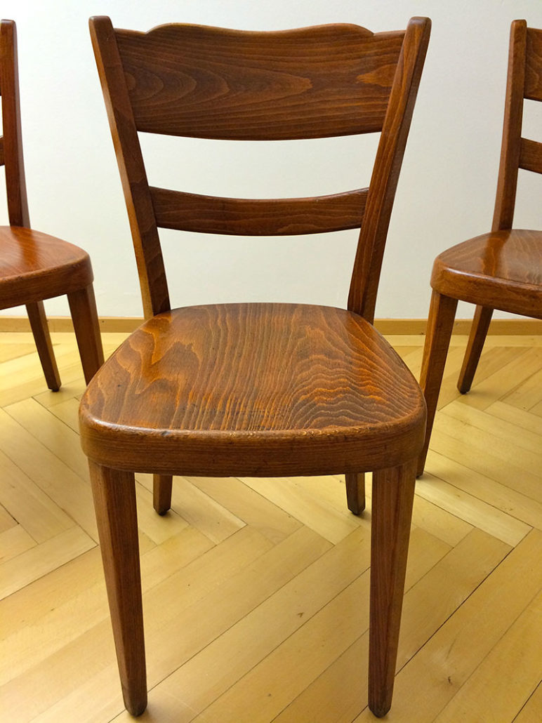 bentwood bistro chair. Set Of 6 Bistro-Dining Bentwood Chairs Bistro Chair