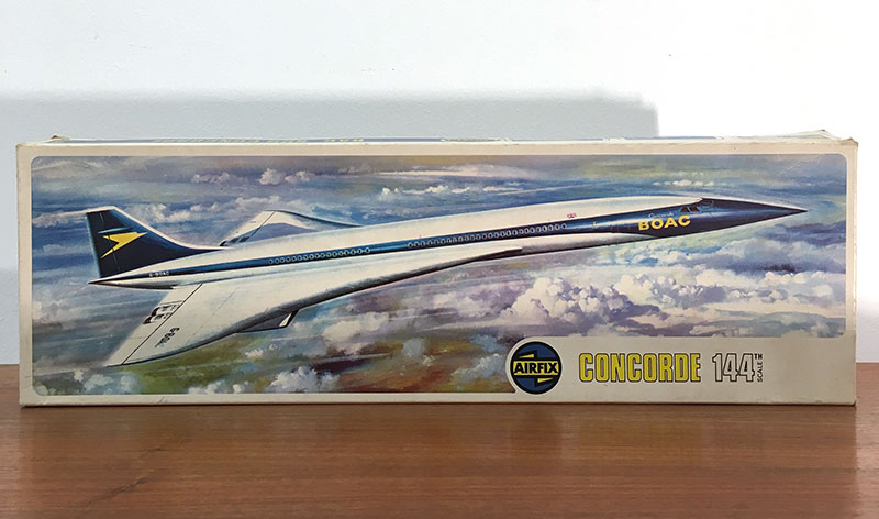 Concorde Airfix 1960s 1 144 Scale Model Construction Kit